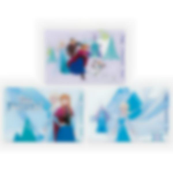 Lote adicional de 3 tarjetas magnéticas para la fiambrera Ludibox–Disney Frozen