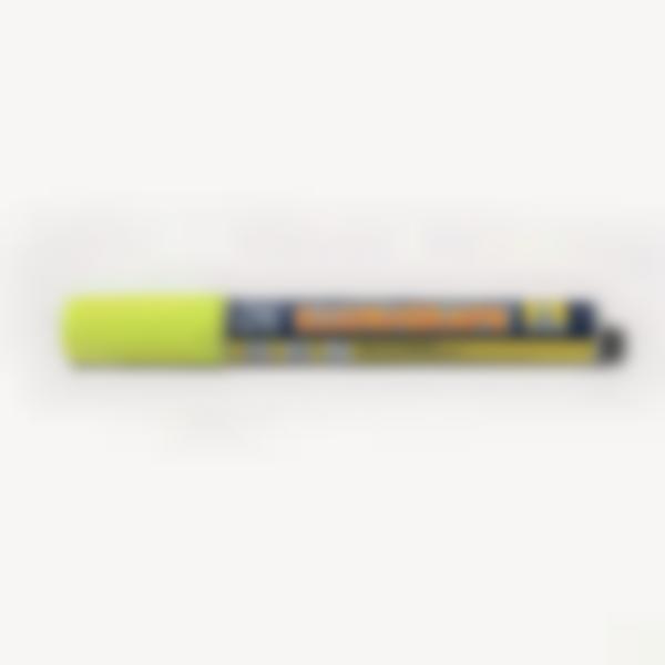 Marcador de tiza líquida - Amarillo