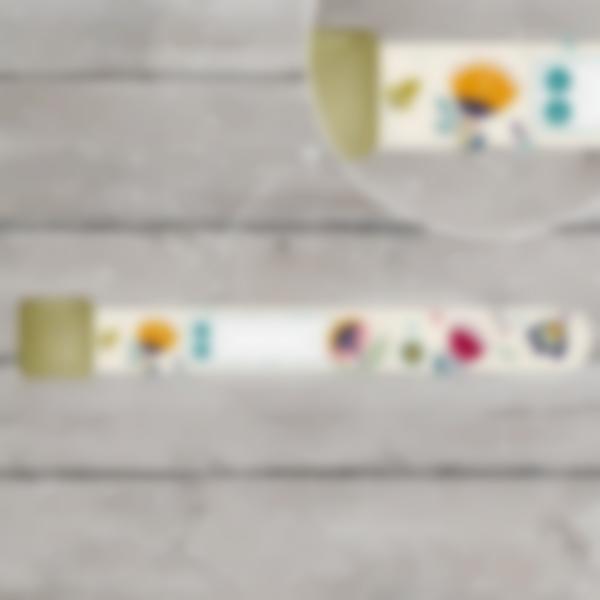 Pulsera identificativa - Floral