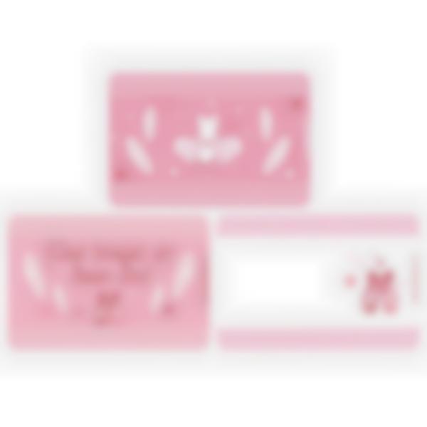 Lote adicional de 3 tarjetas magnéticas para la fiambrera Ludibox–Bailarinas