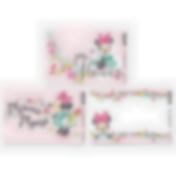 Lote adicional de 3 tarjetas magnéticas para la fiambrera Ludibox–Disney Minnie