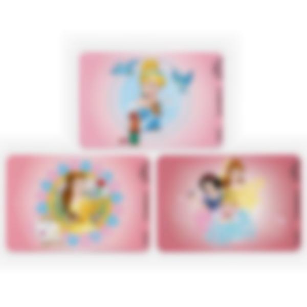 Lote adicional de 3 tarjetas magnéticas para la fiambrera Ludibox–Disney Princesas