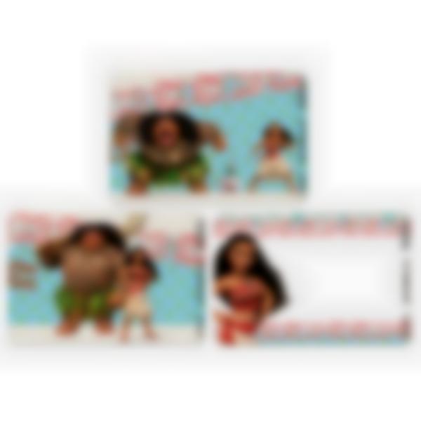 Lote adicional de 3 tarjetas magnéticas para la fiambrera Ludibox–Disney Vaiana