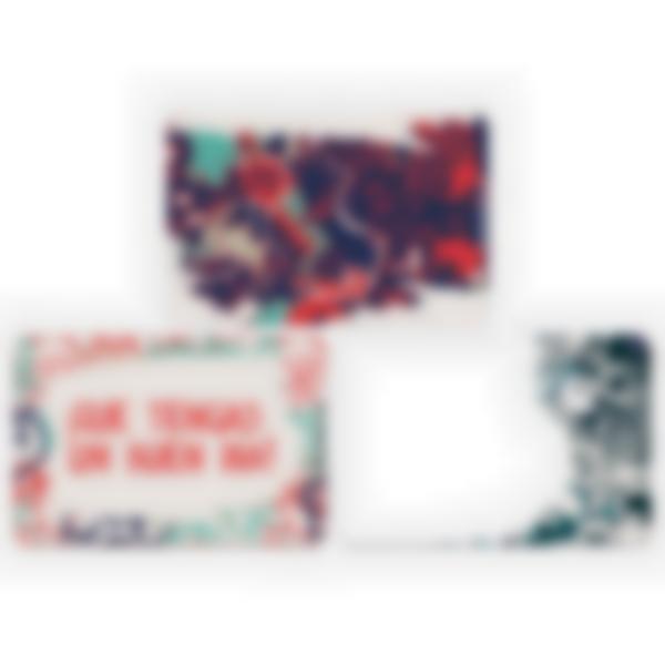 Lote adicional de 3 tarjetas magnéticas para la fiambrera Ludibox–Grafiti