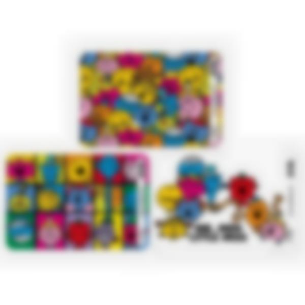 Lote adicional de 3 tarjetas magnéticas para la fiambrera Ludibox - Mr Men Little Miss
