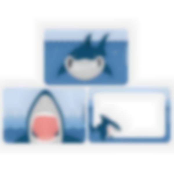 Lote adicional de 3 tarjetas magnéticas para la fiambrera Ludibox–Tiburon