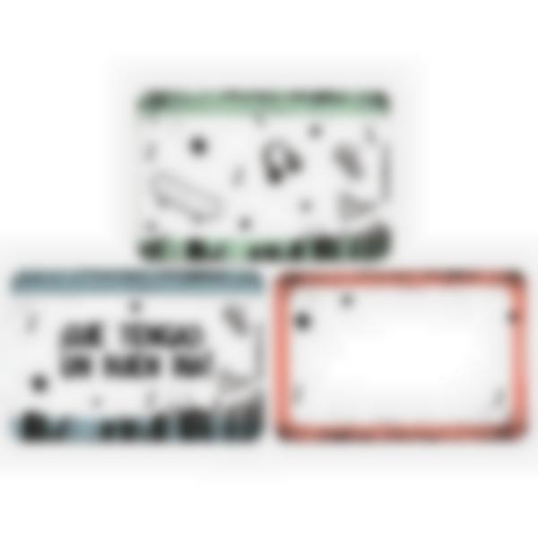 Lote adicional de 3 tarjetas magnéticas para la fiambrera Ludibox–Cultura Skater