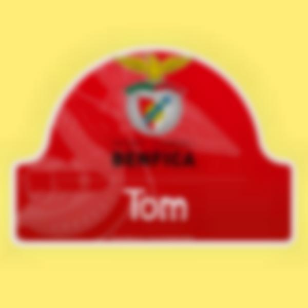 Placa Infantil adhesiva para puertas - Benfica