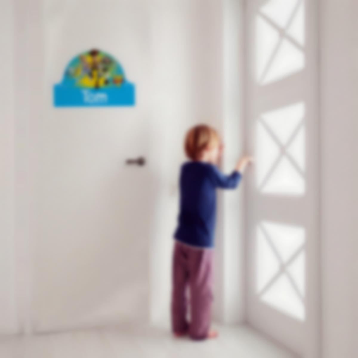 Placa Infantil adhesiva para puertas - Toy Story 4