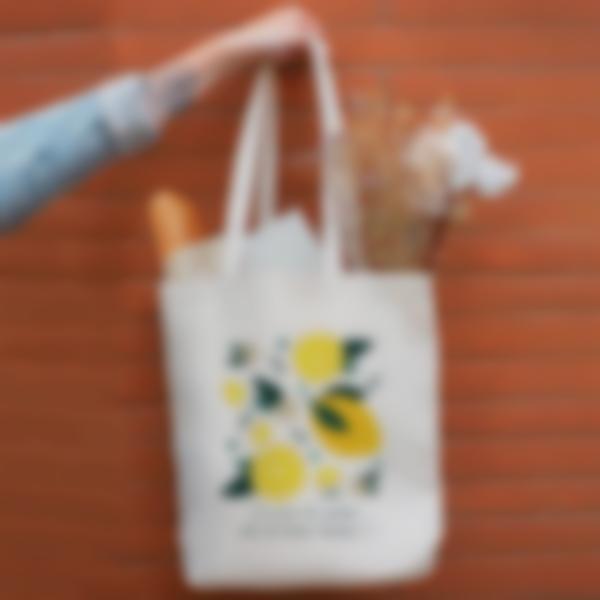 Sacs Tote bag - Citron