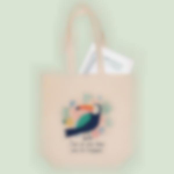 Sacs Tote bag - Tropical