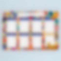 Tablero Calendario Semanal magnetico - Jungle Vibes
