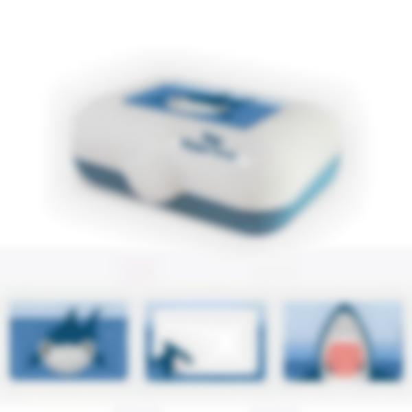 Ludibox - Fiambrera personalizada azul – Tiburón