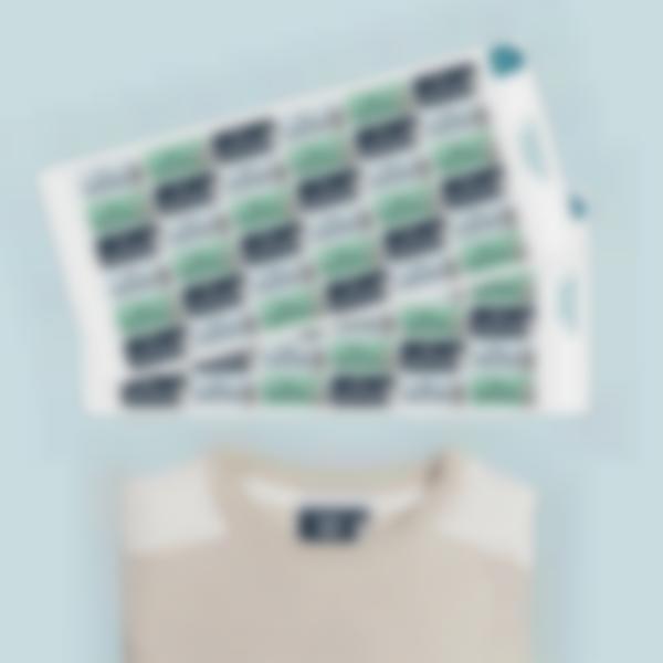 Ludisticks Pegatinas para ropa