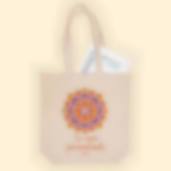 Bolsa de tela personalizada - Mandala