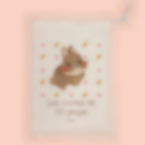 Bolsa de guardería - Conejo - M