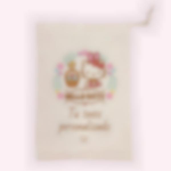 Bolsa de tela para envolver huevos de Pascua - Hello Kitty