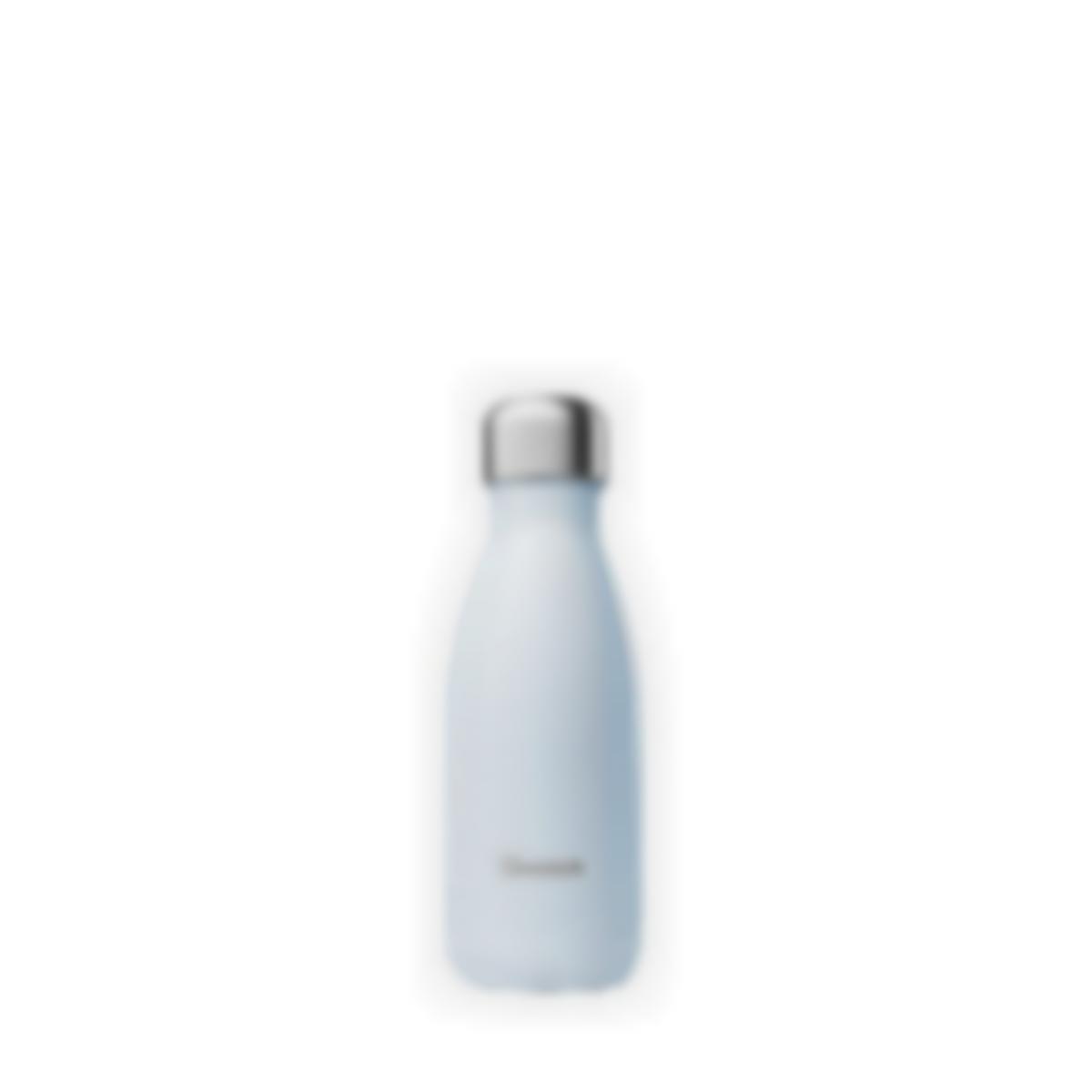 Cantimplora isotérmica Pastel Azul - 260ml - Qwetch