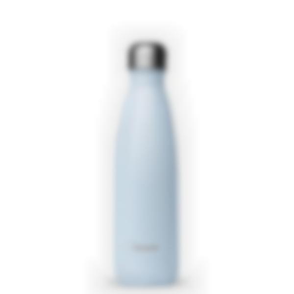 Cantimplora isotérmica Pastel Azul - 500ml - Qwetch