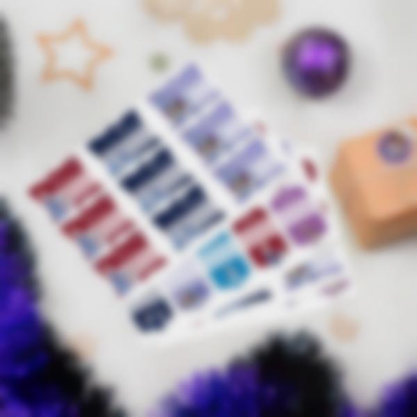 Etiquetas regalos de Navidad - Frozen: un aventura de Olaf