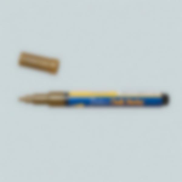 Rotulador de tiza liquída - Dourado