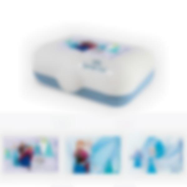 Fiambrera personalizada azul – Frozen Disney