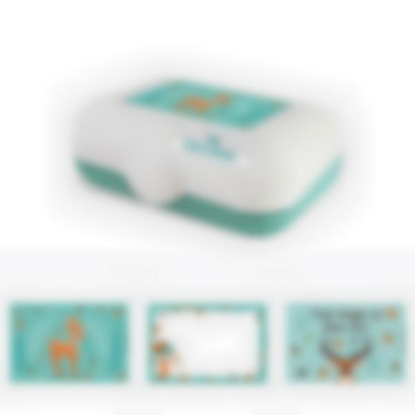 Ludibox - Fiambrera personalizada verde – Foresta