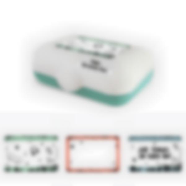 Ludibox - Fiambrera personalizada verde – Cultura Skater
