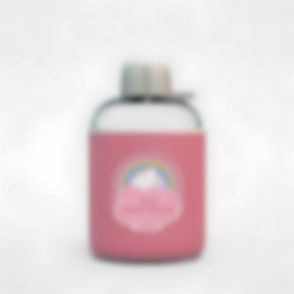 Cantimplora isotérmica personalizada rosa – Unicornio