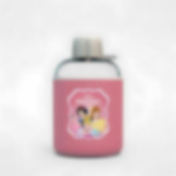 Cantimplora isotérmica personalizada rosa – Disney Princesas