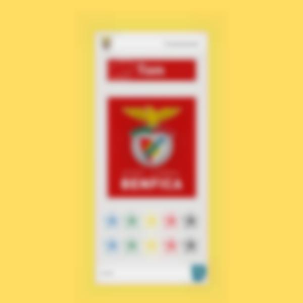 Pegatinas para cantimploras - Benfica