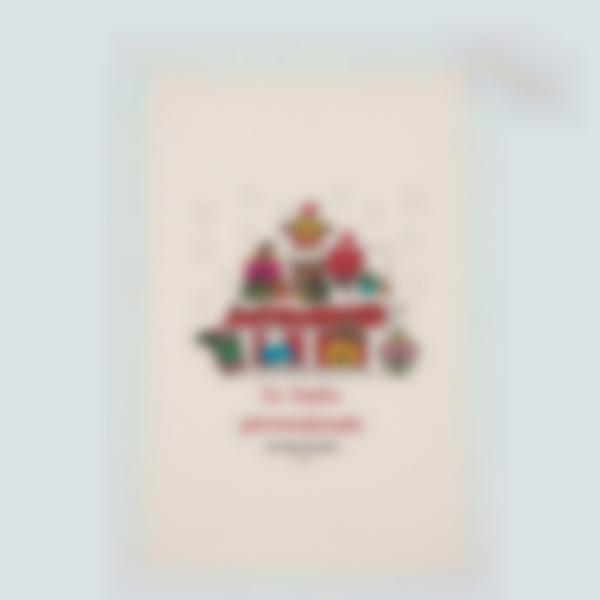 Saco personalizado de Navidad - Mister Men Little Miss