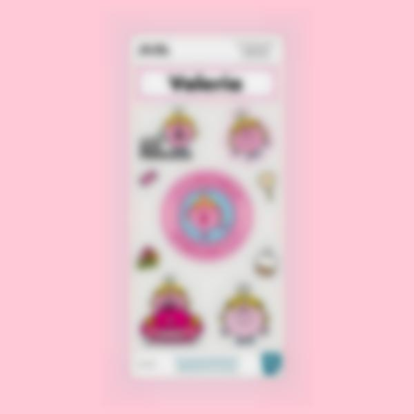 Pegatinas decorativas para cantimploras - Little Miss Princess
