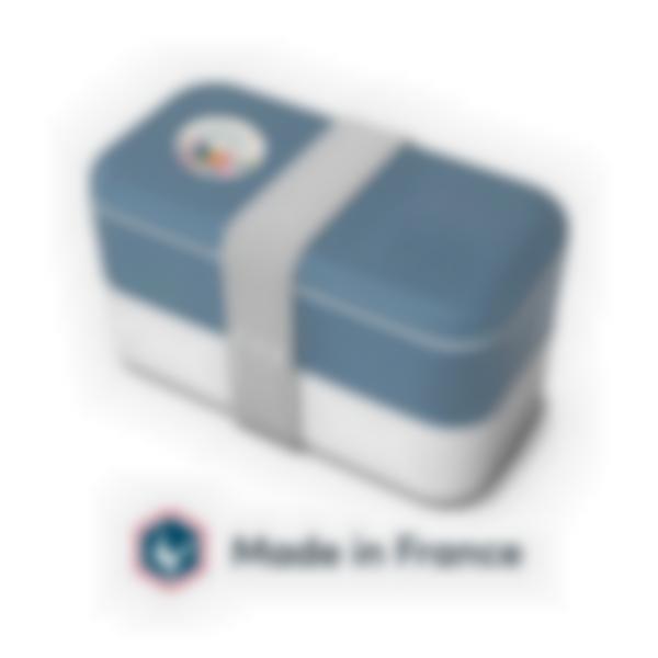 Bento para adultos Azul Denim - MB Original Monbento - Made in France