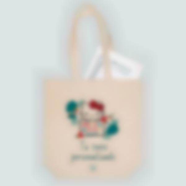 Bolsa de tela personalizada - Hello Kitty Tropical