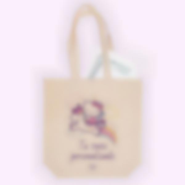 Bolsa de tela personalizada - Hello Kitty Unicornio