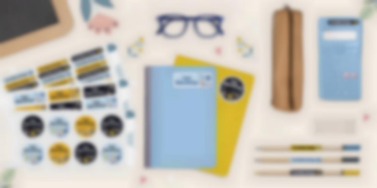 Pack de etiquetas nominativas para el parvulario