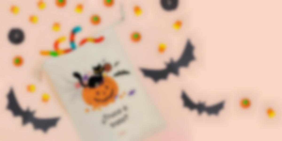 Bolsa para chuches de Halloween