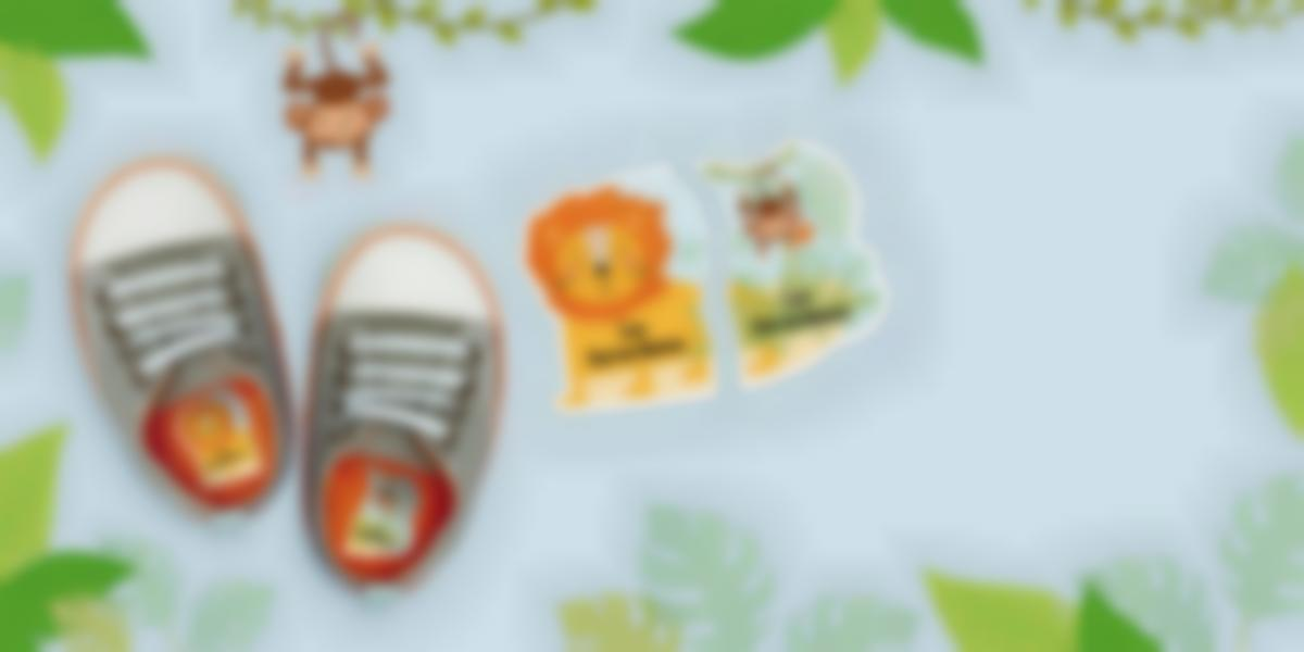 Etiquetas intuitivas izquierda / dercha para zapatos