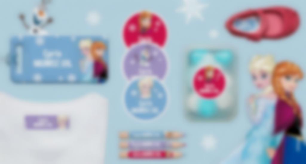 Idescubre las etiquetas de Frozen1