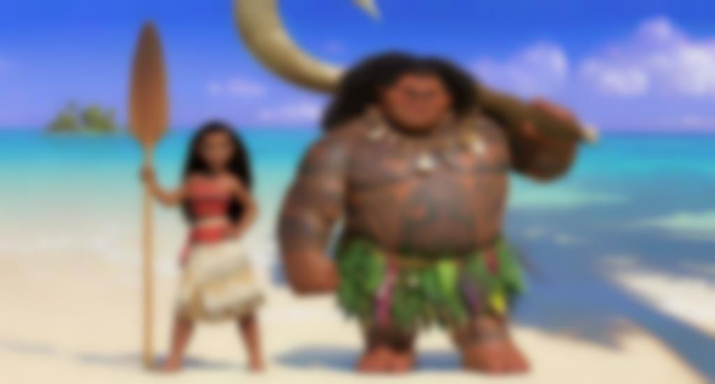 Vaiana e Maui da Oceania