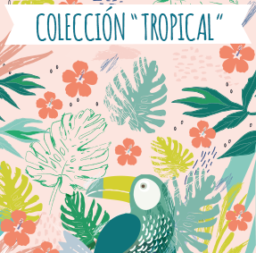 Nueva colección de etiquetas «Tropical»