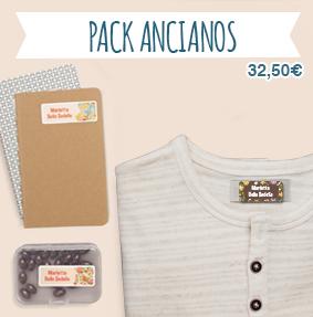 Etiquetas nombre termoadhesivas y adhesivas para residencia ancianos para marcar ropa y libros, objetos, bolsos, cajas...
