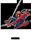 ilustración Marvel por las etiquetas nominativas
